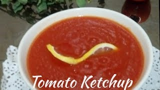 Tomato Ketchup | Homemade Tomato sauce | How to make perfect tomato ketchup | Bangladeshi ketchup