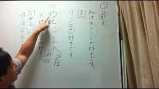 青葉塾 http://aobajuku.com 接続語について基本的な説明をしています。...