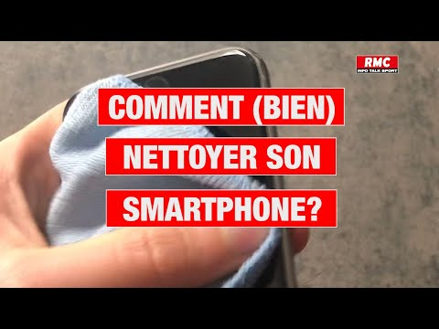 Comment (bien) nettoyer son smartphone?