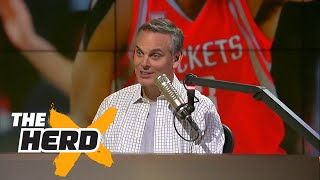 Colin reacts to James Harden saying he is the best player in the NBA in 2016-17 | THE HERD