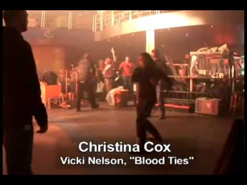HQ Blood Ties  Behind the s  Christina Cox: Ninja Skills & Hard Kicks