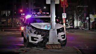BROOKLYN: NYPD Vehicle Crash