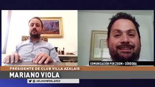 Liga Cordobesa   Mariano Viola   Presidente de Villa Azalais en El Show En La Red 18 09 2020