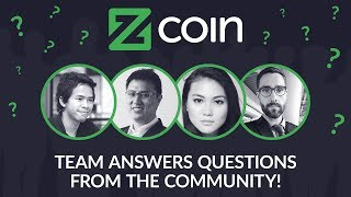Zcoin team answers questions from the community!