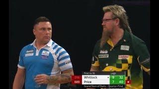 Gerwyn Price vs. Simon Whitlock Incident - 2018 PDC Grand Slam