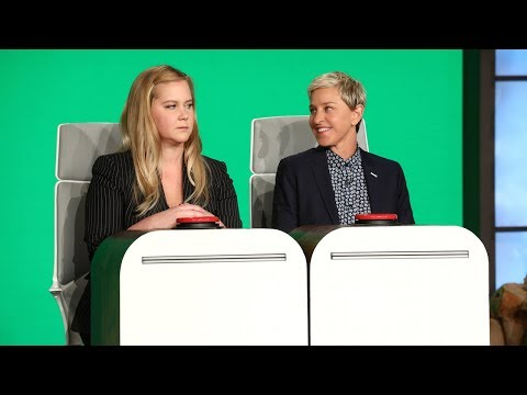 Amy Schumer Answers Ellens Burning Questions