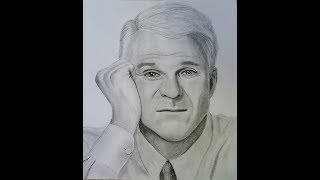 Drawing Steve Martin
