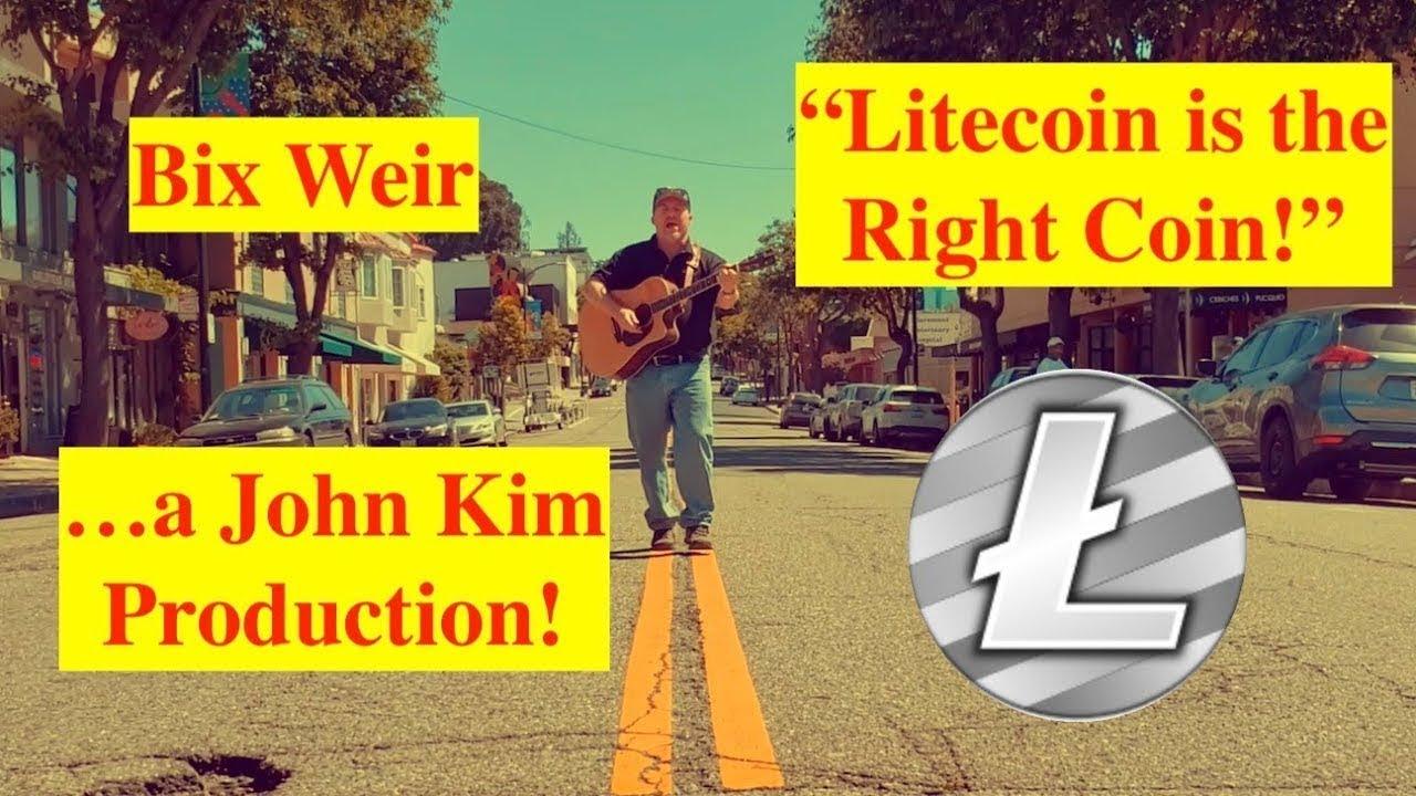 """Litecoin is the Right Coin"" by Bix Weir w⁄ John Kim Remix! 5"