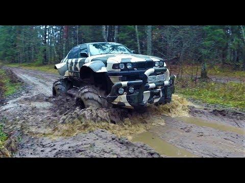 МОНСТР БЕЗДОРОЖЬЯ BMW X7 E32 750 Long Валькирия ! Таких больше нет ! Offroad