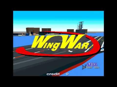 Wing War ~1994 Sega Model 1 wingwar
