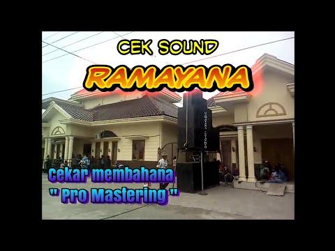 """WAoww RAMAYANA SOUND SYSTEM CEk Pas """"FOH"""" Keluar  Anggler Bersih Padat !"""