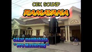WAoww RAMAYANA SOUND SYSTEM CEk Pas