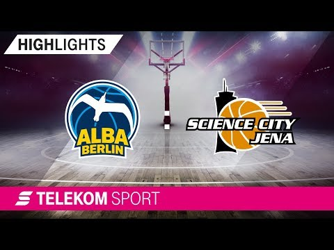 ALBA Berlin – Science City Jena | 1. Spieltag, 18/19 | Telekom Sport