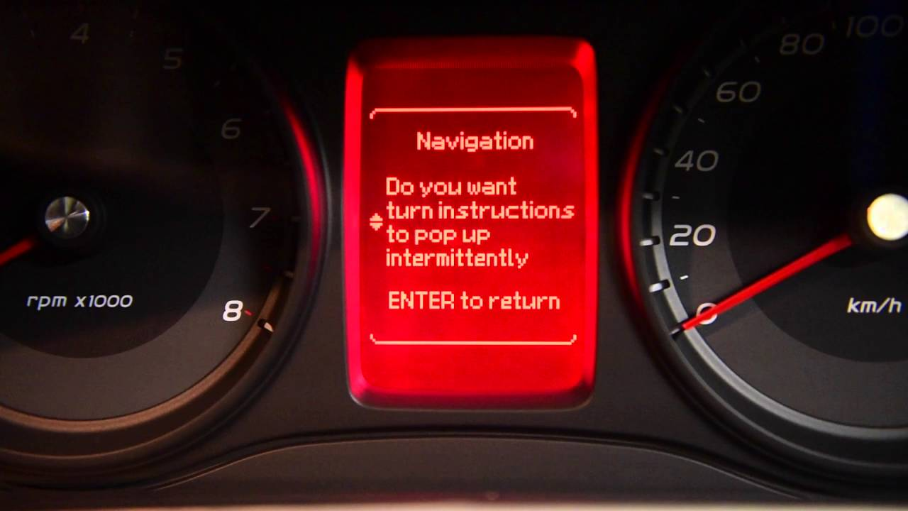 VE Commodore Centre Cluster Options - Holden - AutoInstruct