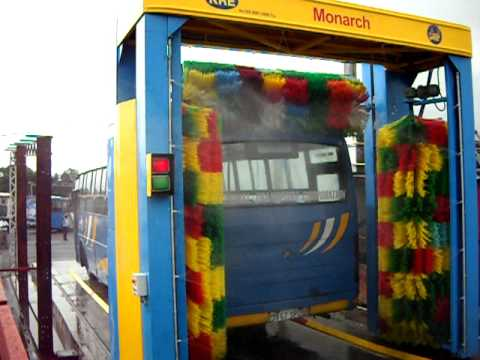 3 brush Bus Wash NTC Mauritius.AVI