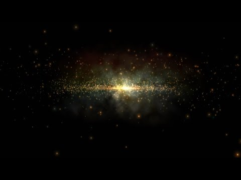 4K Galaxy Space Star Travel Zoom in Animation UHD HD Background