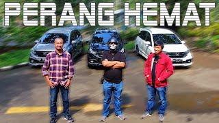 Adu nyetir hemat MotomobiTV, Fitra Eri dan Ridwan Hanif