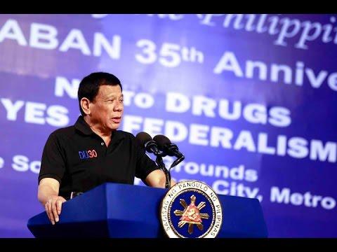 Pres. Duterte, Partido  Demokratiko Pilipino(PDP)  Laban (Speech) 35th  Anniversary @ Pasay City