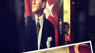 10 Kasım 2018 Dikme köyü ilk okulu kapıları Atatürk resimleri