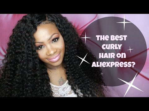AMAZING CURLY HAIR FROM ALIEXPRESS?