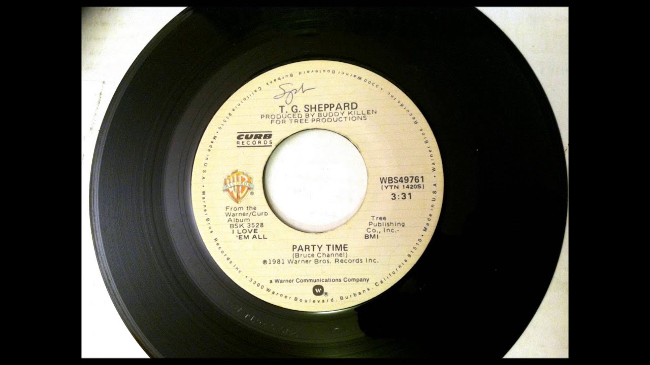 Party Time T G Sheppard 1981 Vinyl 45rpm Youtube
