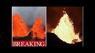 Hawaii volcano ERUPTION: Kilauea EXPLOSION blasts volcano ash 9,000 feet into sky