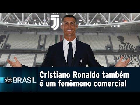 Com Cristiano Ronaldo, Juventus vê ingressos da temporada esgotarem | SBT Brasil (21/07/18)