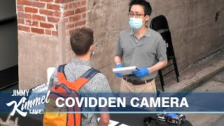 Kimmel Staff Pranked by Fake COVID Health & Safety Officer