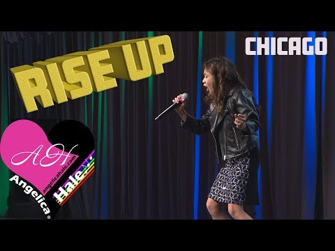 """Angelica Hale Singing """"Rise Up"""" - 2018 Chicago Fresenius Conference"""
