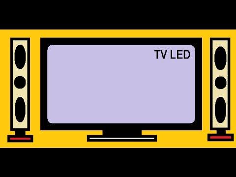 Menggambar Tv Led Tutorial Paint Youtube