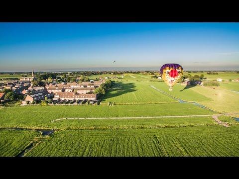 Heteluchtballon bij Oud Ade