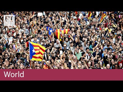 Catalonia shuts down in protest | World