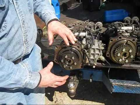 isuzu 4he1 engine tooth gears