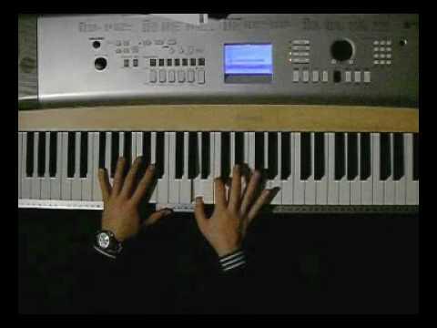 Andre Tire Kale Bala (piano tutorial) by ORiKE