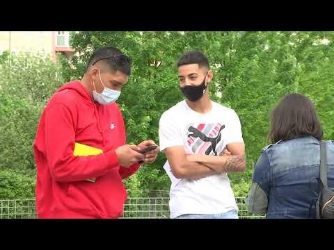 Colombianos en Ourense muestran su rechazo a la oleada de violencia que sufre su país 06/05/2021