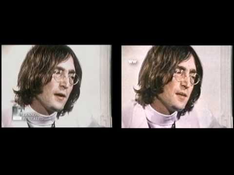 John Lennon-Paul McCartney 1968 Larry Kane side by side
