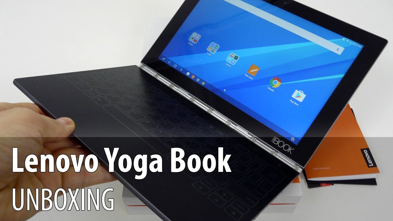 Lenovo Yoga Book Android Unboxing 2 In 1 Tablet With Touch Keyboard Real Pen Stylus Youtube