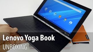 Lenovo Yoga Book Android Unboxing (2 in 1 Tablet With Touch Keyboard, Real Pen Stylus)