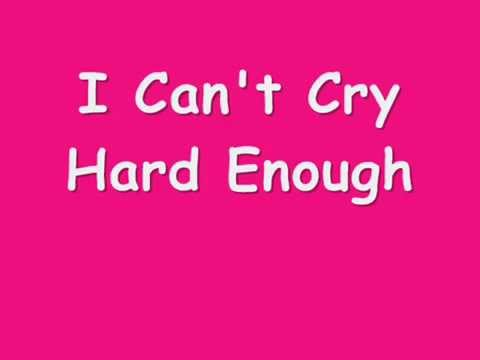 Can't Cry Hard Enough ( William Brothers -  Lyrics)