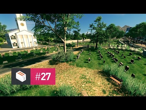 Let's Design Cities Skylines — EP 27 — Main Cemetery
