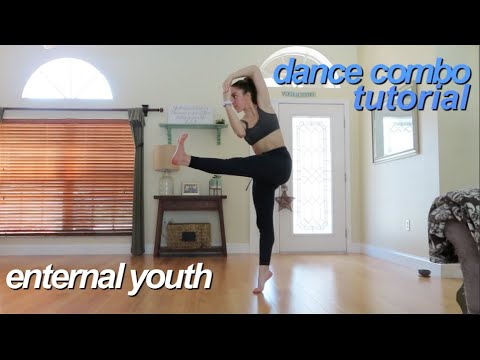 Eternal Youth - RUDE (Contemporary Dance Combo Tutorial)