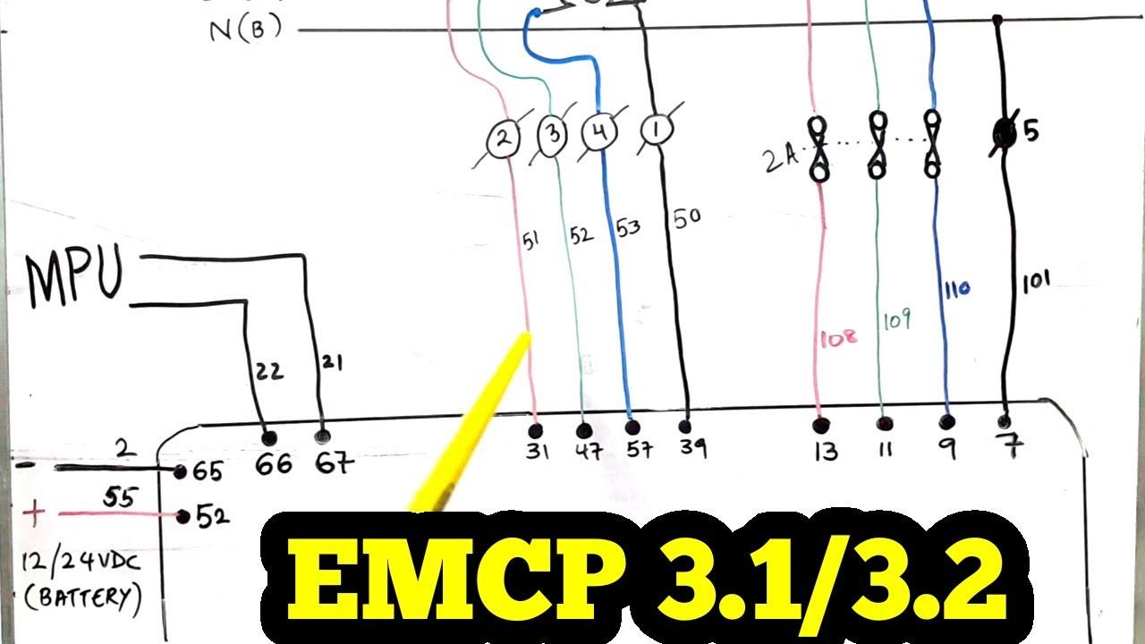 Caterpillar Emcp 2 Wiring Diagram from i.ytimg.com