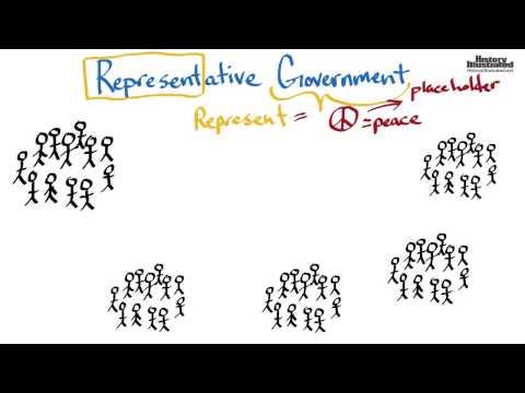 Representative Government Definition for Kids