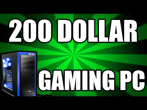 Best 200 Dollar Gaming PC Build March 2016 - RIP Consoles (Plays Every Game)