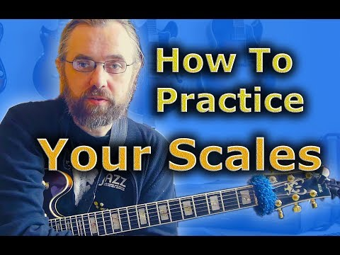 How to practice your scales and why - Positions