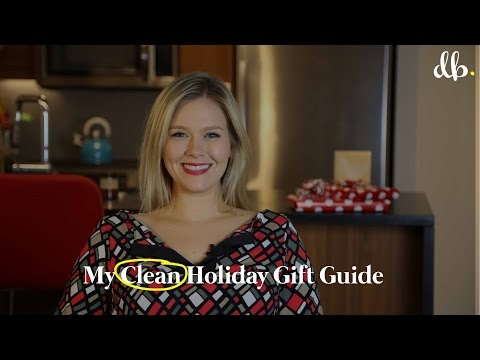 HOLIDAY GIFT GUIDE: CLEAN LIVING EDITION