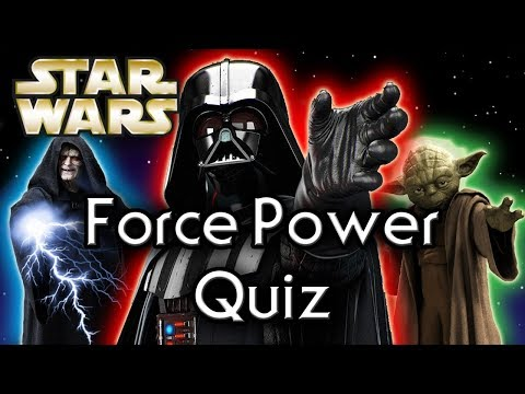 Find out YOUR Force POWER! - Star Wars Quiz