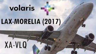 Trip report: Volaris A320 / Los Ángeles - Morelia (ULTRA RED-EYE FLIGHT) (2017 edition)