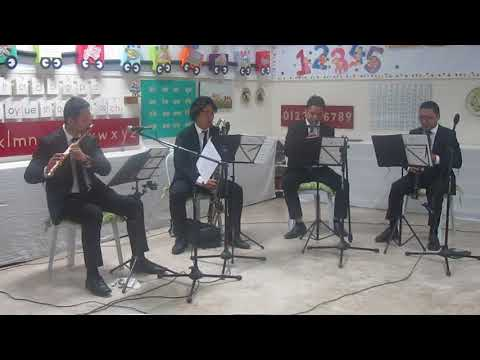 William Tell Overture perfromed by the Sarreal Brothers Wind Quartet