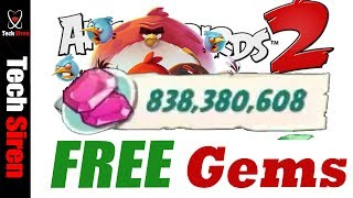 ANGRY BIRDS 2 hack for UNLIMITED FREE GEMS !!!